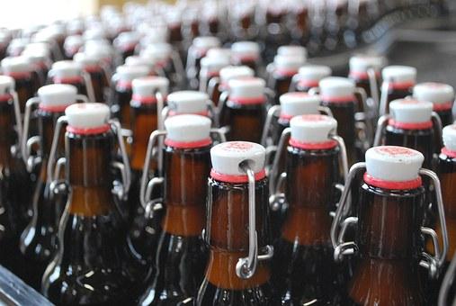 Flessen, Bier, Vullen, Drinken, Bierfles