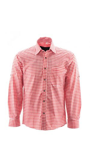 Alpenoverhemd Rood