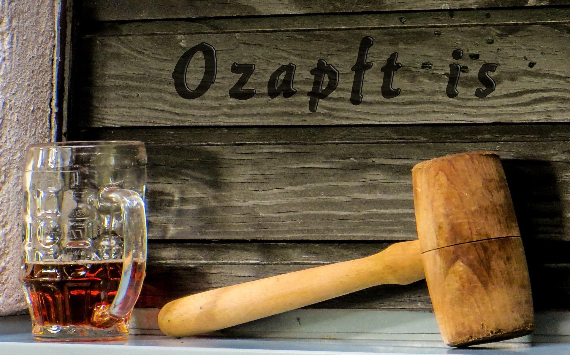Ozapf ist