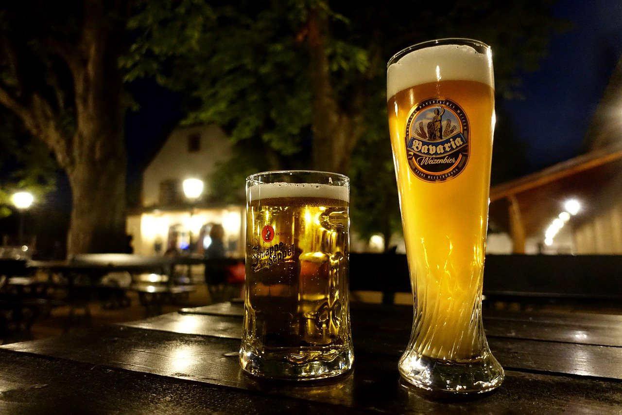 Biergarten maken