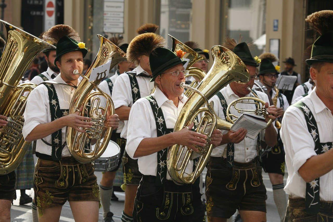 Oktoberfest muziek